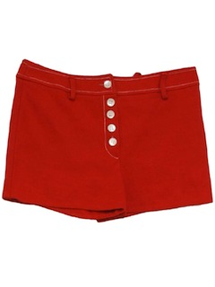 1970's Womens Mod Hot Pants Style Short Shorts