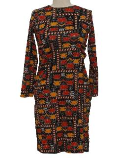 1960's Womens or Girls Mod Dress