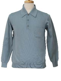 1980's Mens Designer Knit Shirt