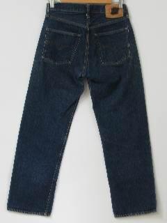 1960's Mens Jeans Pants