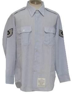 1990's Mens Military Airforce Shirt