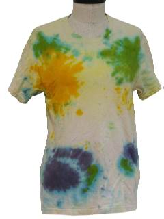 1980's WOmens Hippie Tie Dye T-Shirt