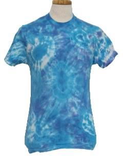 1990's Womens Hippie Tie Dye T-Shirt