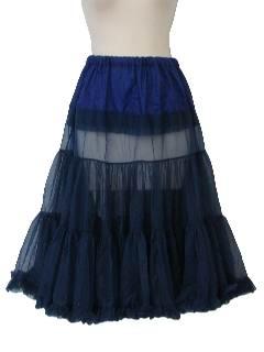 1950's Womens Lingerie - Crinoline Skirt