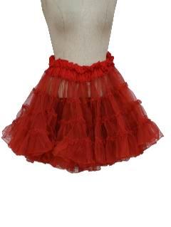 1960's Womens Lingerie - Crinoline Skirt