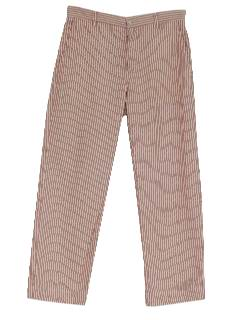 1980's Mens Mod Slacks Pants