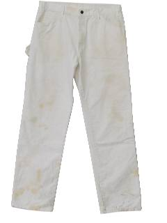 1980's Mens Totally 80s Painter Pants