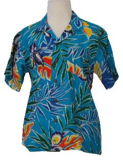 1990's Womens Hawaiian Shirt