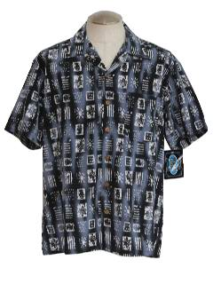 1990's Mens Wicked 90s Hawaiian Shirt