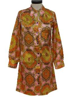 1970's Womens Hippie Dress