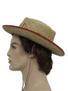 1980's Unisex/Childs  Accessories - Western Hat
