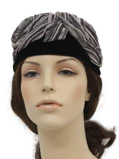 1960's Womens Accessories -Designer  Hat