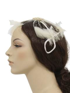 1940's Womens Accessories -Feather Hat