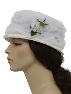 1960's Womens Accessories -Hat