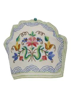1960's Home Decor - Tea Cover