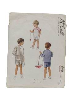 1940's Mens/Childs Sewing Pattern