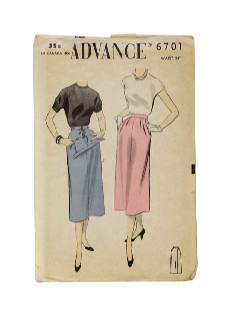 1940's Womens Maternity Sewing Pattern