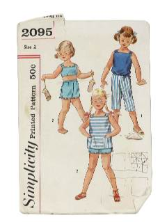 1950's Womens/Childs Sewing Pattern