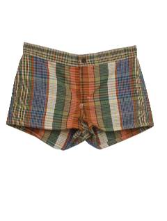 1970's Womens Short Shorts Shorts