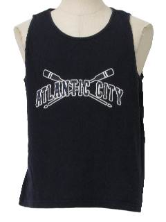 1990's Mens Wicked 90s Muscle Tank Top Travel T-Shirt