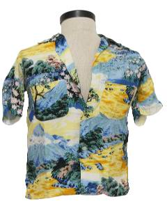 1950's Unisex Hawaiian Shirt