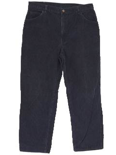 1980's Mens Corduroy Jeans-Cut Pants