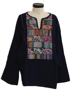 1980's Womens Baja Pullover Shirt Jac