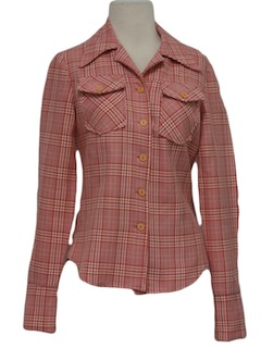 1970's Womens Western Style Leisure Jacket