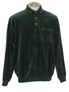 1990's Mens Velour Shirt