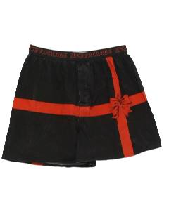 1990's Mens Accessories - Christmas Boxer Shorts