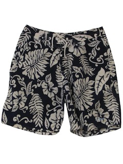 1990's Mens Wicked 90s Hawaiian Board Shorts