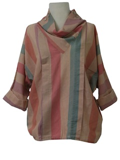 1980's Womens Totally 80s Mod Shirt