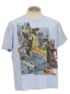 1990's Mens Wicked 90s TV/Comic Super Hero T-Shirt