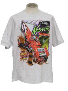 1990's Mens Racing/Auto Sports T-Shirt