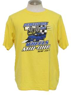 1990's Mens Wicked 90s Racing/Auto Sports T-Shirt
