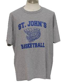 1980's Mens Totally 80s University Sports T-Shirt