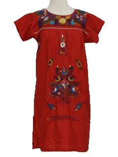 1970's Womens/Girls Hippie Dress