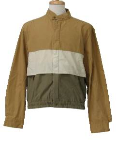 1980's Mens Totally 80s Golf Jacket