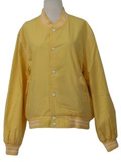 1980's Womens Baseball Style Jacket
