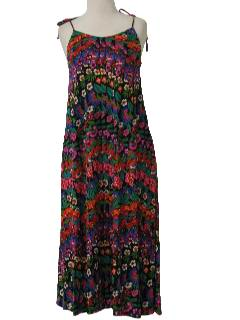 1980's Womens Sundress Dress