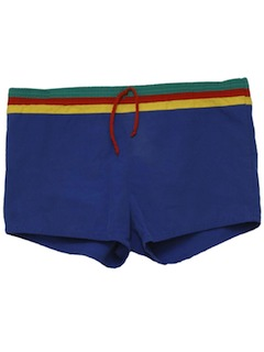 1980's Mens Totally 80s Short Shorts