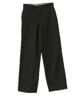 1960's Mens Military Style Uniform Pants