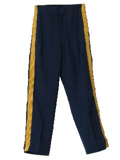 1960's Mens Uniform Band Pants