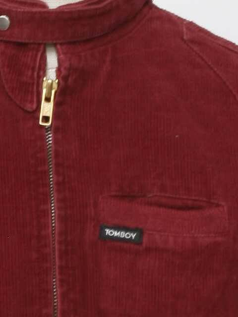 49d804796 1980's Tomboy Unisex Totally 80s Members Only Style Corduroy Jacket