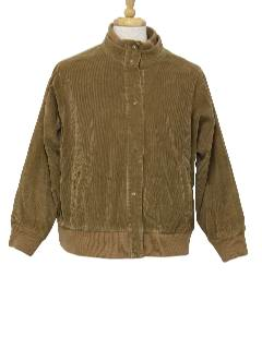 1980's Mens Totally 80s Corduroy Jacket