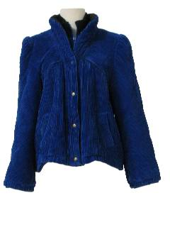 1980's Womens Totally 80s Corduroy Jacket