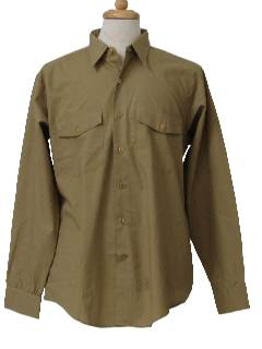 1960's Mens Work Shirt