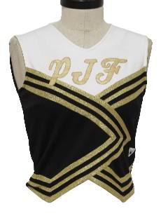 1980's Womens Cheerleader Shirt