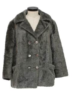 1970's Womens Fake Fur Jacket