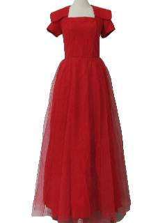 1950's Womens New Look Fab Fifties Cocktail Dress